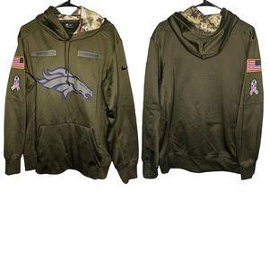 Nike NFL Denver Broncos Salute to Service Hoodie M